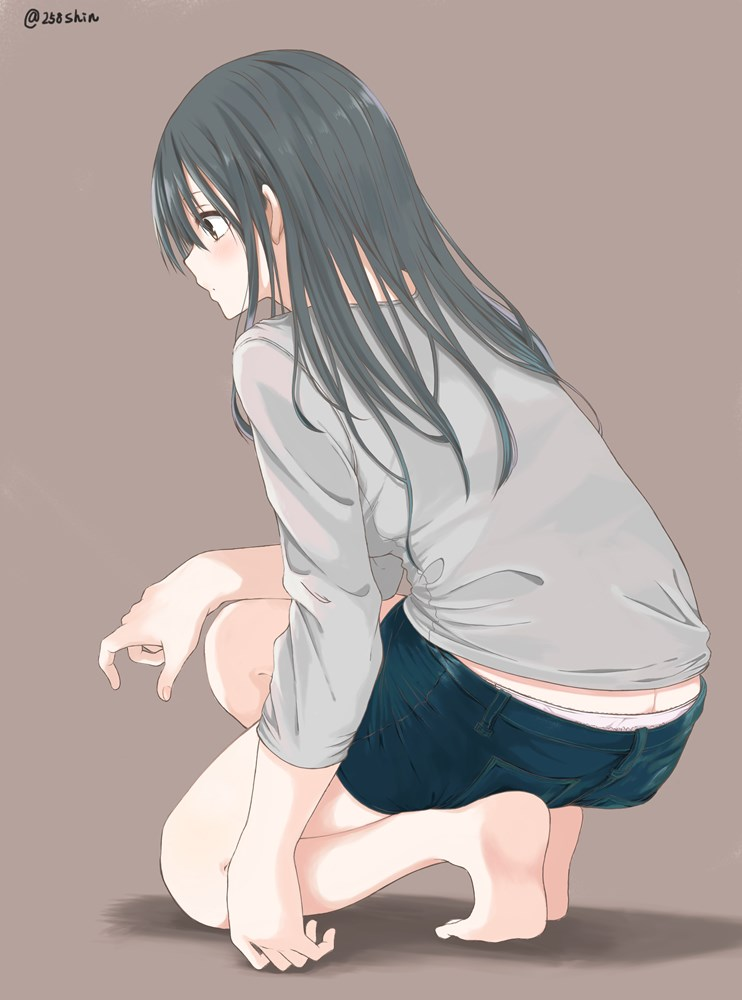 女の子の足画像