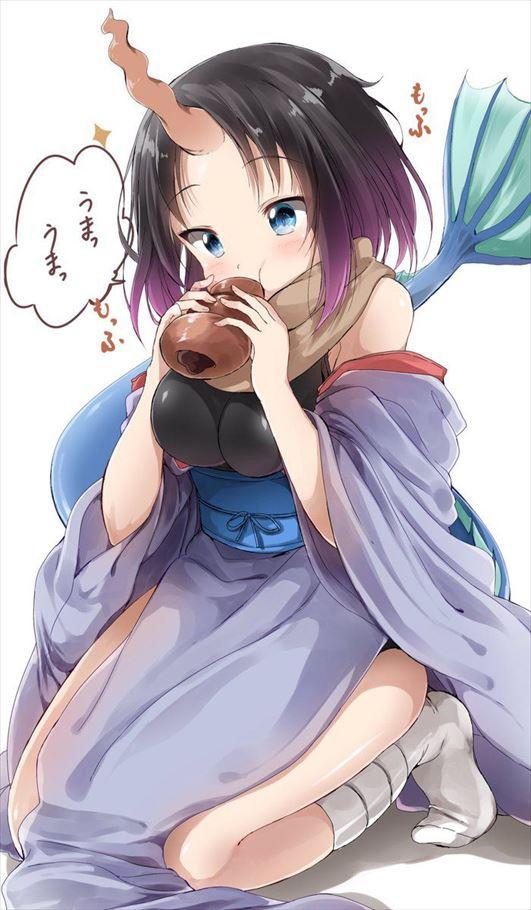 【エルマ】小林さんちのメイドラゴンエロ画像