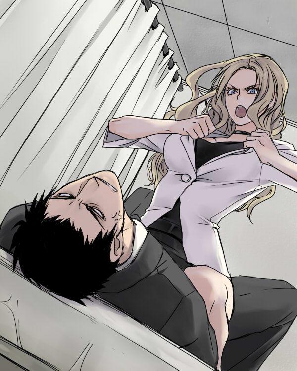 【2次】暗殺教室のイリーナ・イェラビッチ(ビッチ先生)のエロ画像