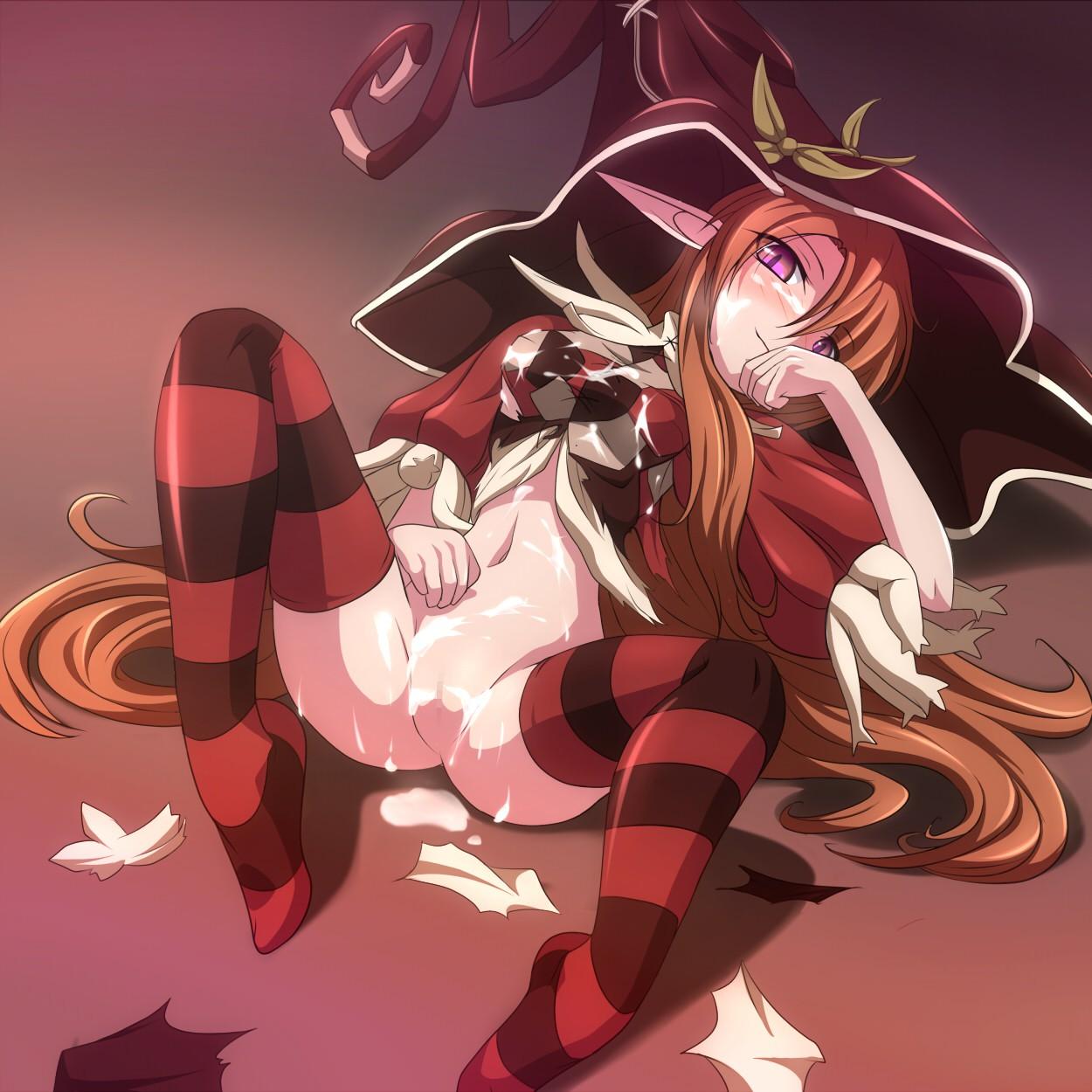 【2次】魔女っ娘のエロ画像【魔法使い】