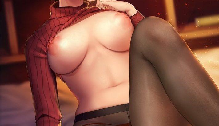 【2次】女の子の乳出し画像24【おっぱいが出ている】
